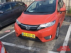 הונדה JAZZ החדשה טרנד 1300 אוטו' 2016